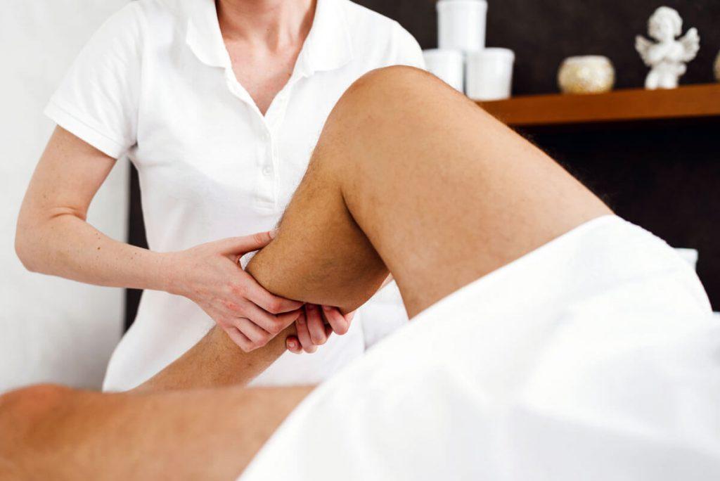 Manuelle Lymphdrainage in Lich bei Gießen bei Wassereinlagerungen in den Beinen und bei geschwollenen Füßen