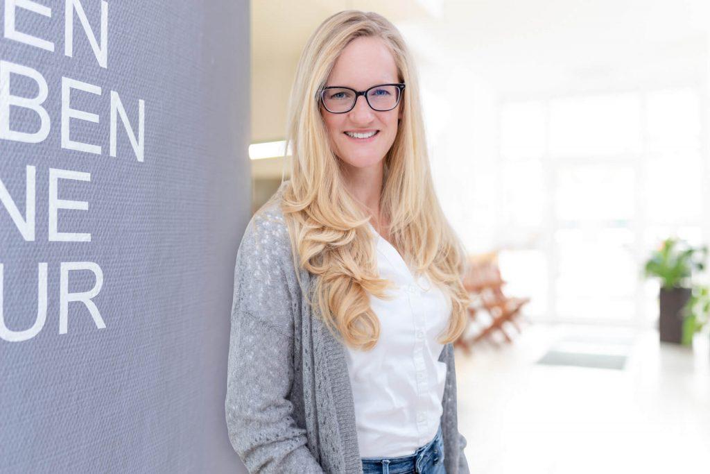 Jana Welsch, Geschäftsführerin im Therapiezentrum Lich und bewegLICH GmbH (Sanitätshäuser in Lich und Hungen)